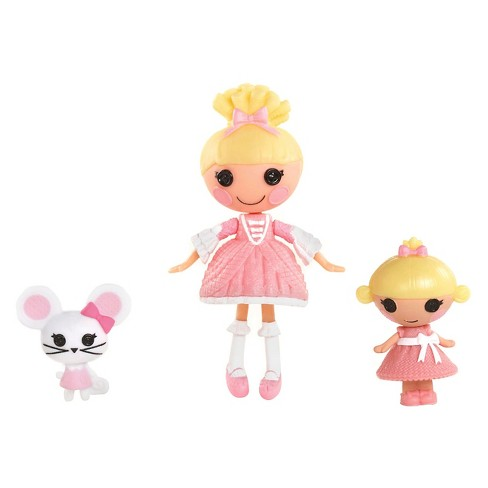 Mini Littles Sisters Dolls - Cinder Slippers and Ribbon Slippers - image 1 of 2