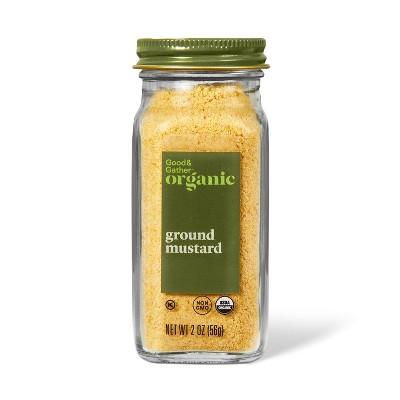 Organic Ground Mustard - 2oz - Good & Gather™