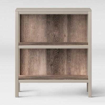 Hadley 36.2  2 Shelf Bookcase - Gray - Threshold™