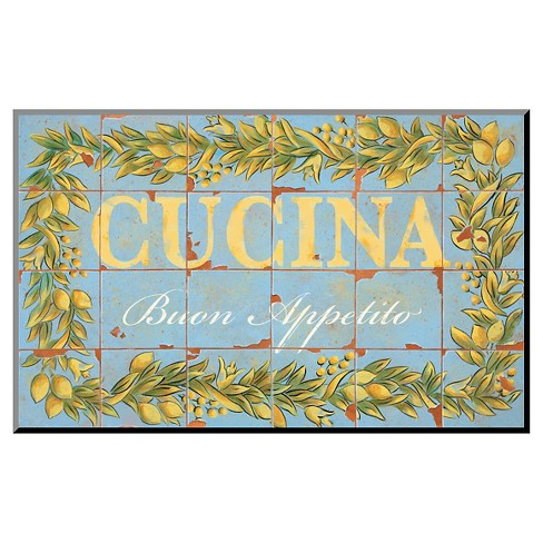 Mediterranean Cucina by Michael Letzig, Mounted Print - image 1 of 2