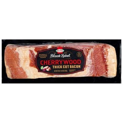 Hormel Black Label Cherrywood Thick Cut Bacon - 24oz