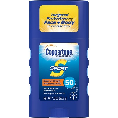Sunscreen & Tanning: Coppertone Sport