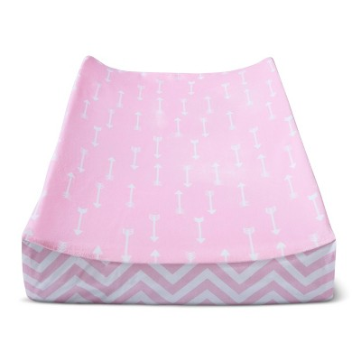 Plush Changing Pad Cover Arrows - Cloud Island™ - Pink