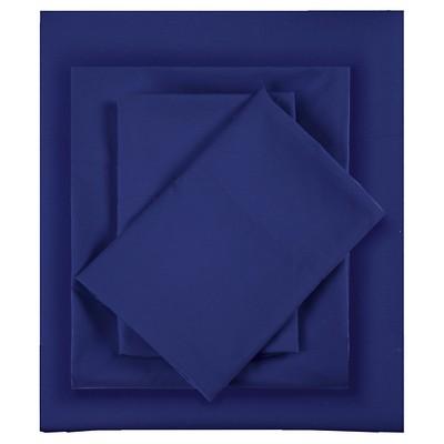 Full Microfiber All Season Wrinkle-Free Sheet Set Navy