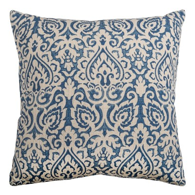Throw Pillow Rizzy Home Navy