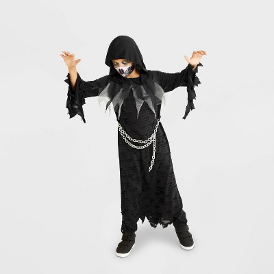 Kids' Hooded Reaper Halloween Costume One Size - Hyde & EEK! Boutique™
