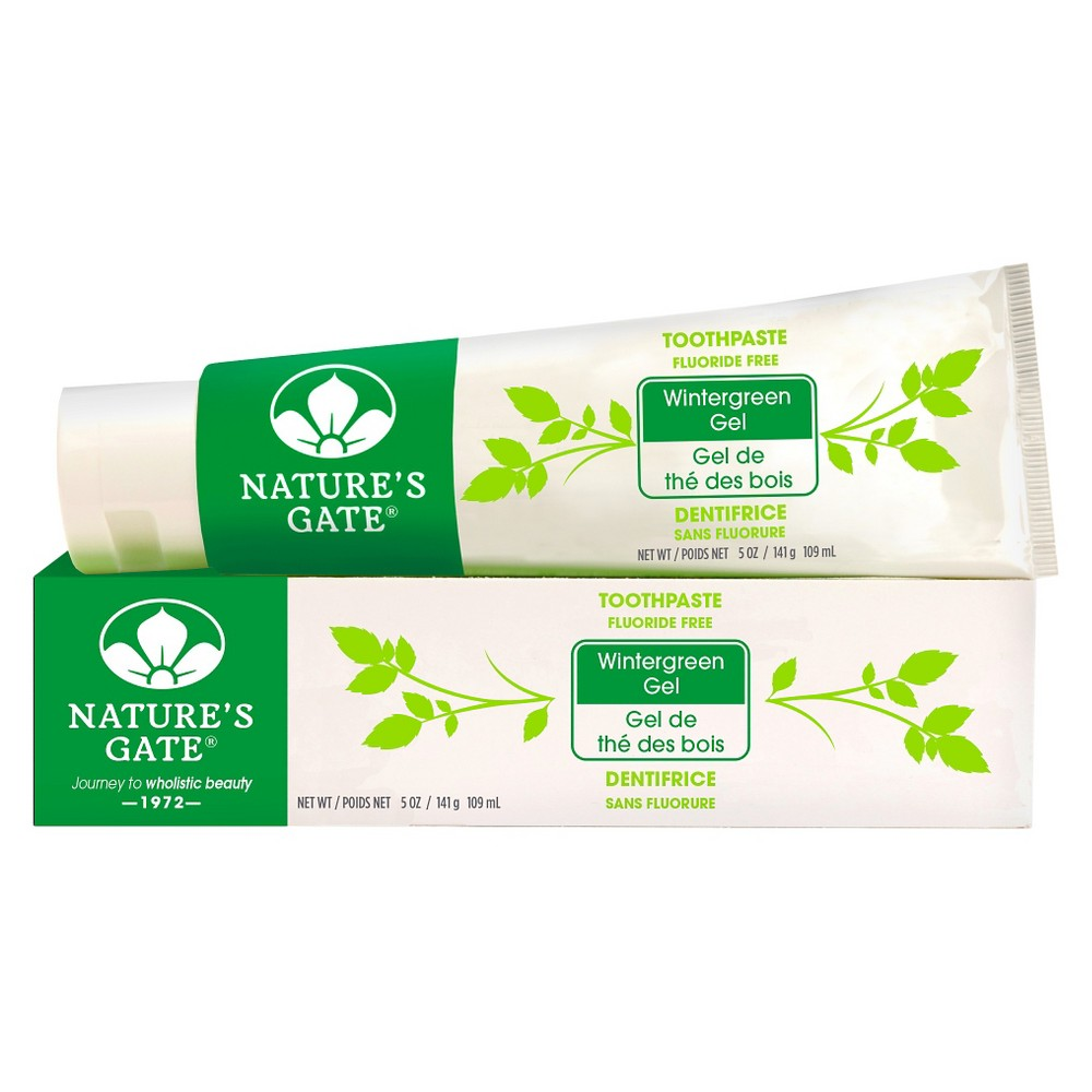 Nature's Gate Wintergreen Natural Gel Toothpaste 5 oz