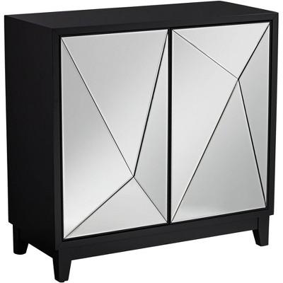 """Bradley 36"""" 2-Door Mirrored Cabinet by Studio 55D"""