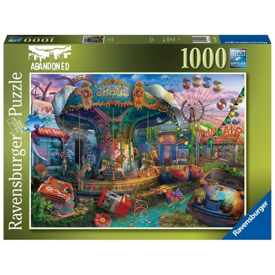 Ravensburger Abandoned Places: Gloomy Carnival Jigsaw Puzzle - 1000pc