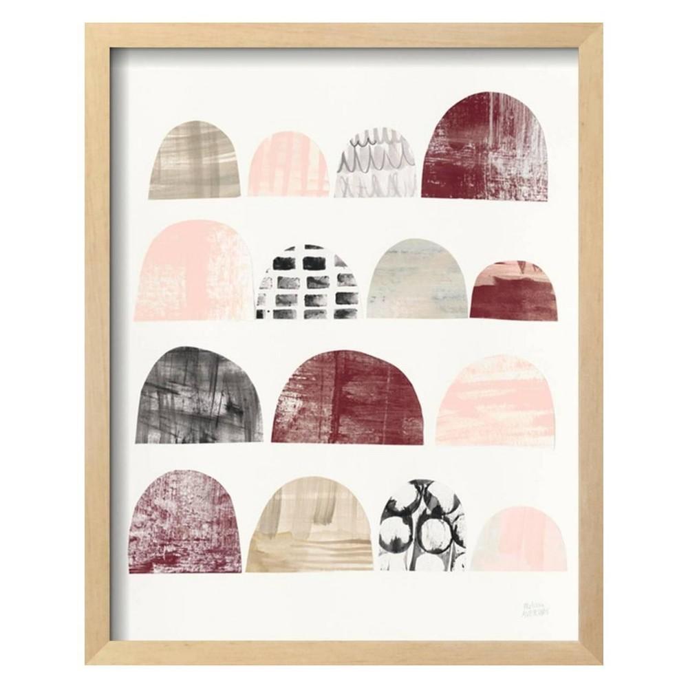Mod Neutrals IV Blush By Melissa Averinos Framed Wall Art Poster Print 16