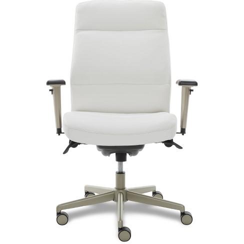 Lzb Modern Baylor Executive Office Chair White La Z Boy Target