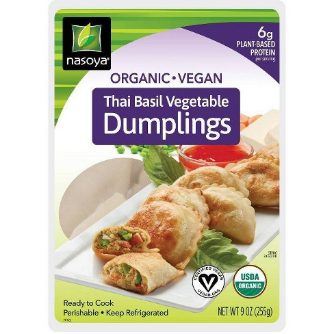 Nasoya Organic Thai Basil Vegetable Dumplings - 9oz - image 1 of 2