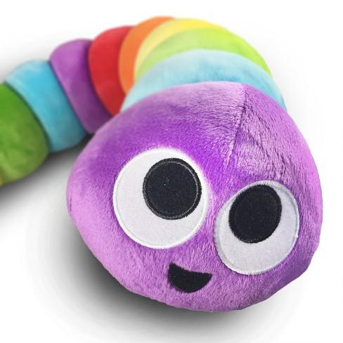 """Slither.io Extra Large 48"""" Plush Rainbow - image 1 of 3"""