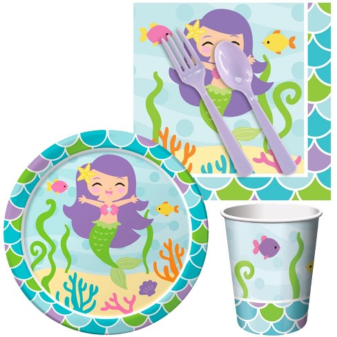 16ct Mermaid Friends Snack Party Pack - image 1 of 1