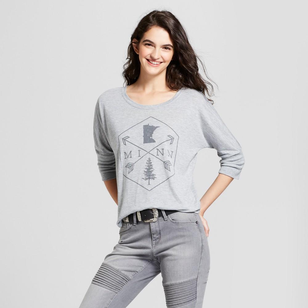 Awake Women's Tunics Gray Ember S