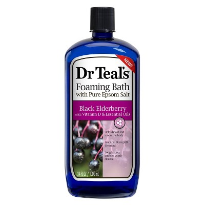Dr. Teal's Elderberry Boost & Renew Foaming Bath - 34oz