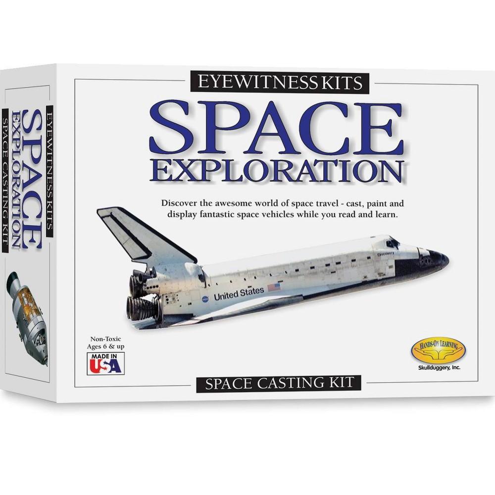 Eyewitness Space Exploration Casting Kit 40 Space Shuttle 47 Command Module 47 Saturn V 41