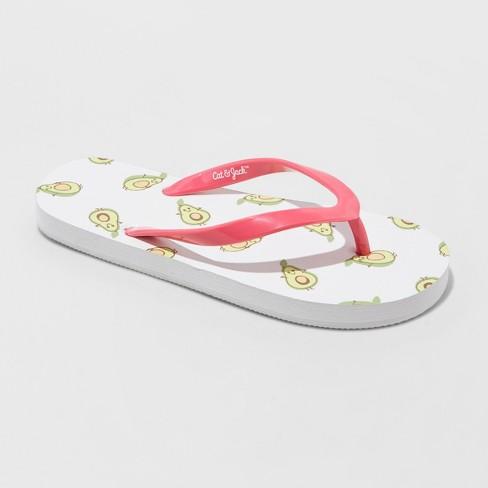 Girls' Flop Avocado Sandals Catamp; Mari Toast Jack™ White Flip 34AjL5R