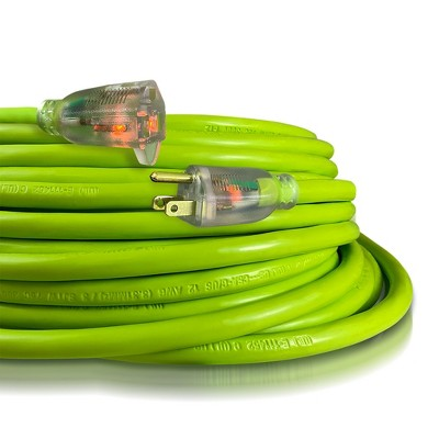 USW 12/3 Cold Weather Extension Cords with 2 Lighted Plugs