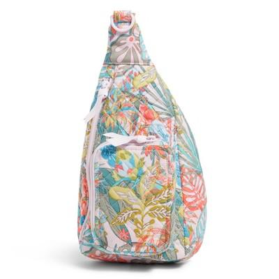 Vera Bradley Women's Recycled Cotton Mini Sling Backpack