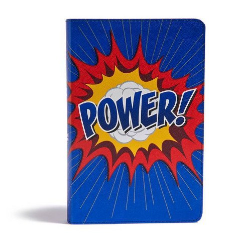 CSB Kids Bible, Power Leathertouch - by  Csb Bibles by Holman (Leather_bound) - image 1 of 1