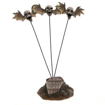 Dept 56 Accessories Flying Skulls Halloween Accessory  -  Decorative Figurines
