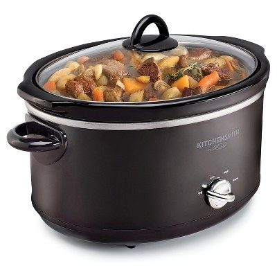 KitchenSmith by BELLA 6QT Manual Slow Cooker