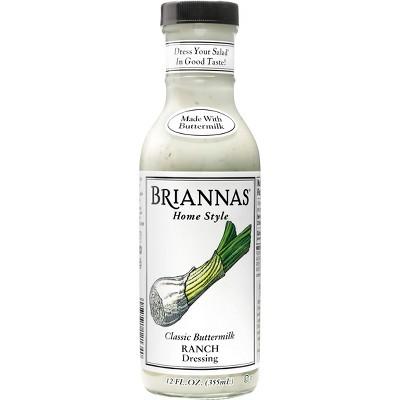 Brianna's Home Style Classic Buttermilk Ranch Dressing 12fl oz