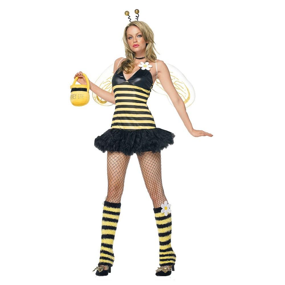 Women's Daisy Bee Costume Medium/Large, Yellow