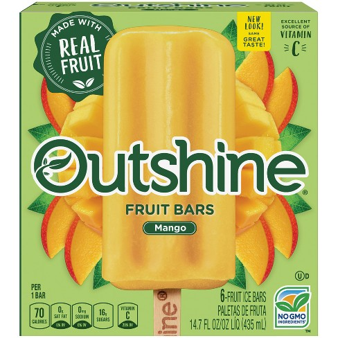 Outshine Mango Frozen Fruit Bar - 6ct - image 1 of 3