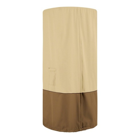 Veranda Round Stand-Up Patio Heater With Table Cover - Classic Accessories - image 1 of 4