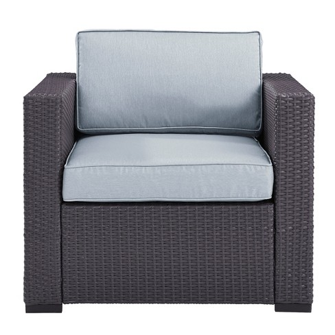Biscayne Armchair with Mist Cushions - Crosley - image 1 of 3