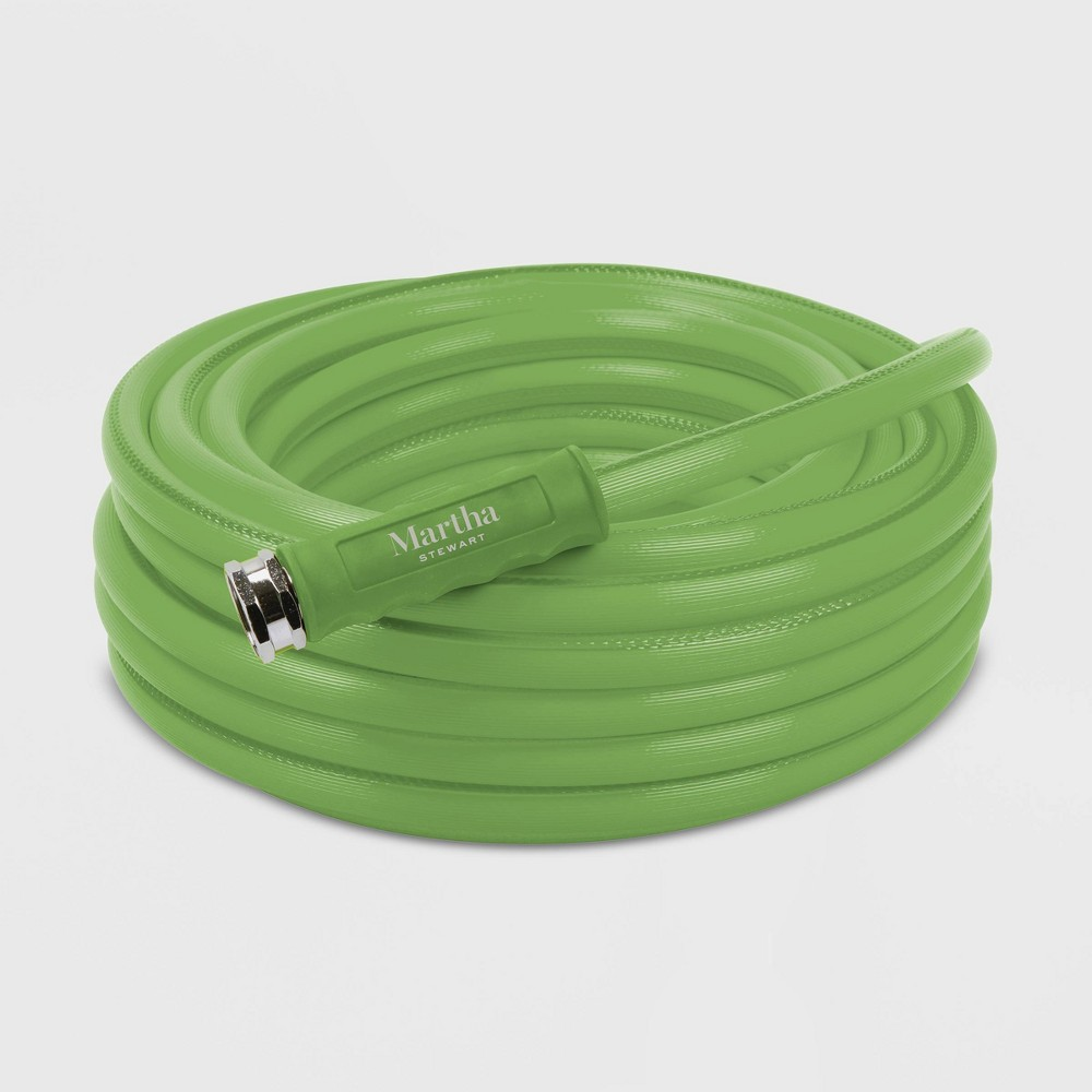Image of 50' Heavy Duty Max Flow All Purpose Garden Hose Green - Martha Stewart