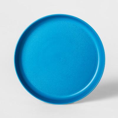 7.3  Plastic Kids Plate Blue - Pillowfort™
