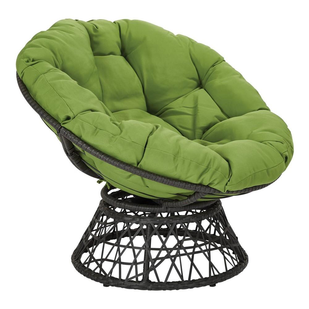 Papasan Chair Green - OSP Home Furnishings Papasan Chair Green - OSP Home Furnishings Gender: unisex.
