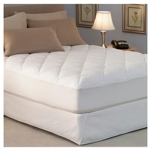 spring air mattress pad Spring Air® Won't Go Flat Mattress Pad : Target spring air mattress pad