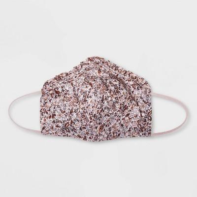 Women's Single Pack Ruffle Fabric Face Masks - Universal Thread™