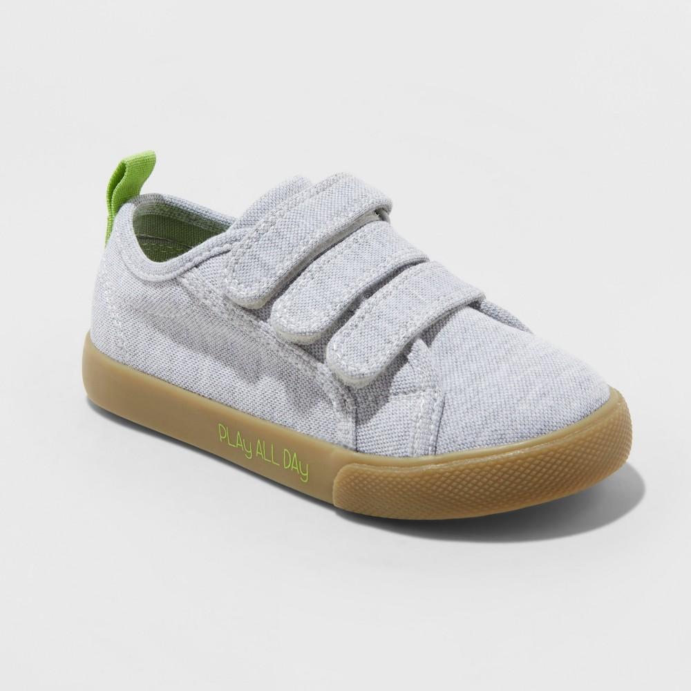 Toddler Boys' Pryor Sneakers - Cat & Jack Light Gray 6