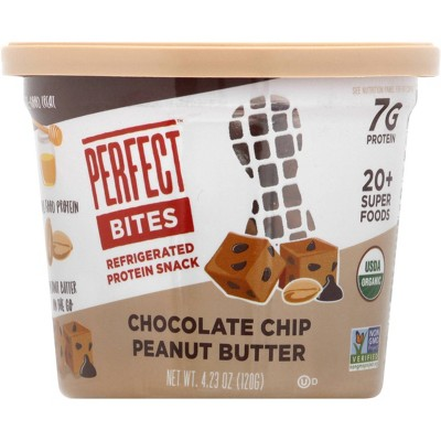 Perfect Bites Protein Snack - Chocolate Chip Peanut Butter - 4.23oz