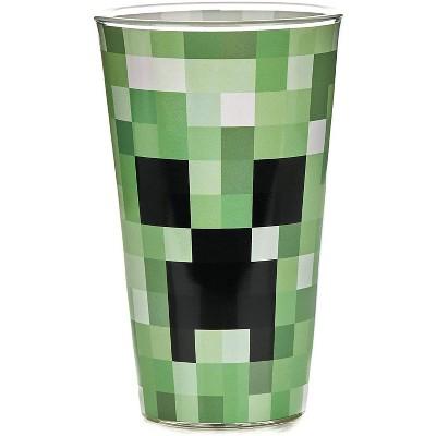 Paladone Products Ltd. Minecraft Creeper 14oz Glass Tumbler