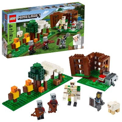 LEGO Minecraft The Pillager Outpost Awesome Action Figure Building Set 21159