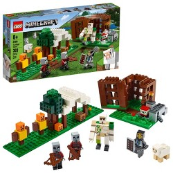 LEGO Minecraft The Pillager Outpost 21159 Awesome Action Figure Building Set