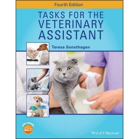 Tasks for the Veterinary Assistant - by  Teresa Sonsthagen (Spiral_bound) - image 1 of 1