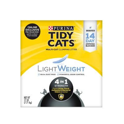 Purina Tidy Cats Lightweight 4-in-1 Strength Plastic Jug Clumping Cat Litter