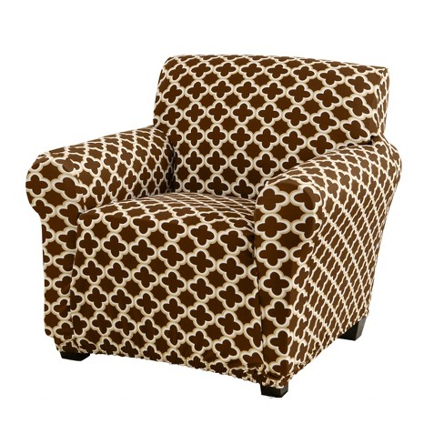 Home Fashion Designs Brenna Collection Twill Stretch Chair Slipcover Target