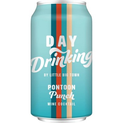 Day Drinking by Little Big Town Pontoon Punch Wine Cocktail - 375ml Can