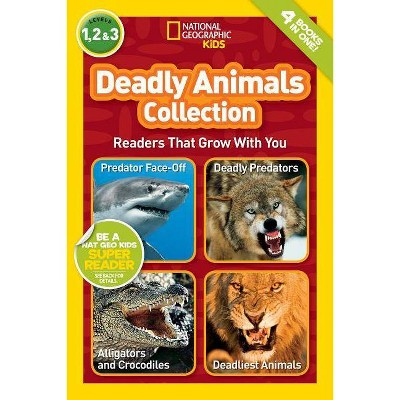 Deadly Animals Collection - by Melissa Stewart & Laura Marsh (Paperback)