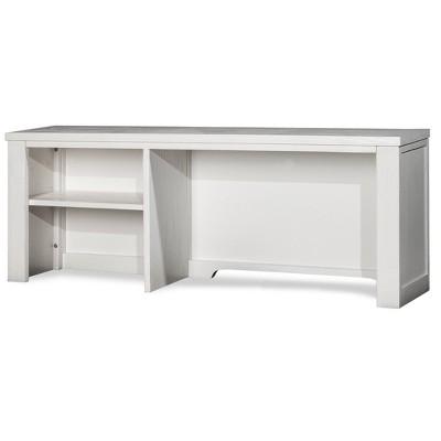 Highlands Desk Hutch White Hillsdale Furniture Target
