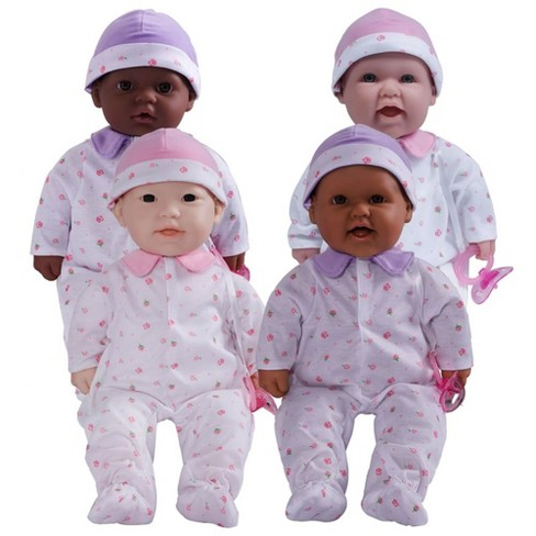 JC Toys Loveable 16 Inch Dolls  - Set of 4 - image 1 of 4