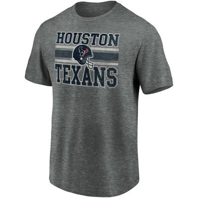 NFL Houston Texans Men's Short Sleeve Bi-Blend T-Shirt